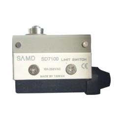 台湾SAMD山电,详细图片,安装尺寸,参数,价格,SD7100,SD-7100行程开关